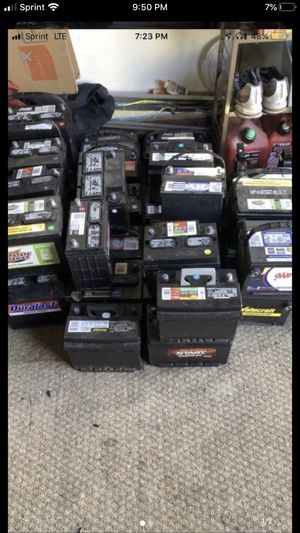 Car batteries for sale for Sale in Seattle, WA