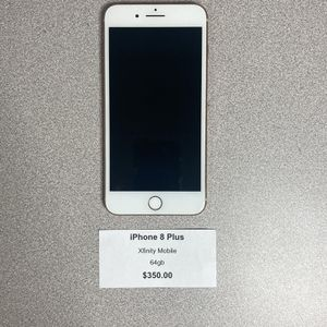 iPhone 8 Plus 64gb Xfinity Mobile for Sale in Irwin, PA
