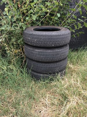 Trailer tires 235/80/16 for Sale in Baltimore, MD