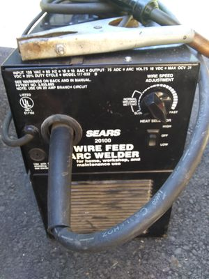 Sears ARC wire feed welder works great for Sale in Marysville, WA
