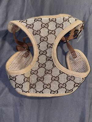 Gucci luxury hand made harness with leash! for Sale in Tampa, FL