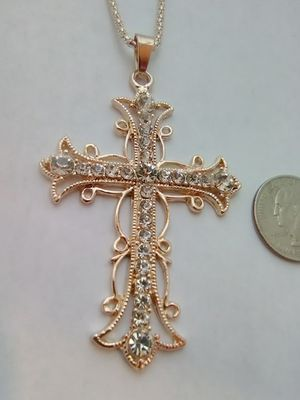 Jeweled Cross Necklace for Sale in Columbus, OH