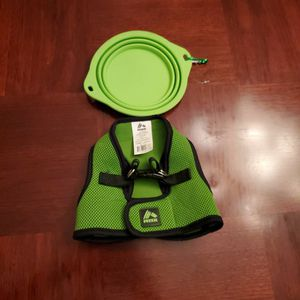 Harness For Small Dog & Portable Pet Bowl for Sale in Boring, OR