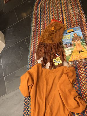 Halloween Wizard Of Oz Cowardly Lion Costume for Sale in Suffolk, VA