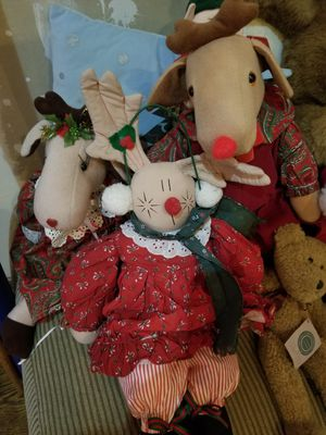 Christmas stuffed animals for Sale in Granger, IN