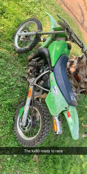 Kawasaki kx80 for Sale in Dinuba, CA