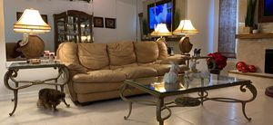 Coffee and end tables. for Sale in PT CHARLOTTE, FL