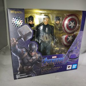 S.H. Figuarts Captain America Final Battle Edition Avengers Endgame for Sale in San Bernardino, CA