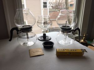Glass Vacuum Siphon Coffee Makers for Sale for sale  Medford, MA
