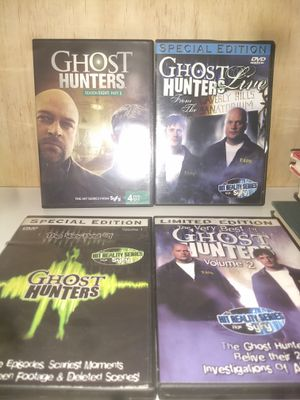 Ghost Hunters DVDs. for Sale in Cumberland, RI