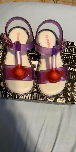 Mini Melissa Sandals for Sale in Santa Ana, CA