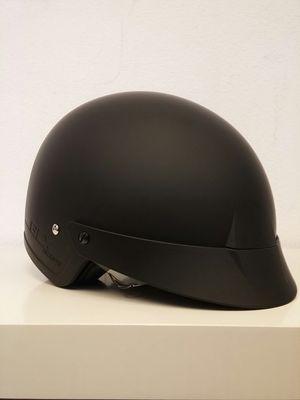 GLX M-14 Matte Black Sniper Street Motorcycle Helmet Black Size Large for Sale in Long Beach, CA