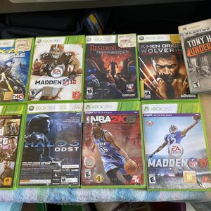 XBox 360 Games for Sale in Fresno, CA