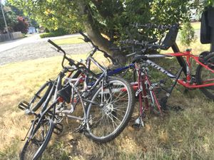 10 bike frames with good parts for Sale in Tigard, OR
