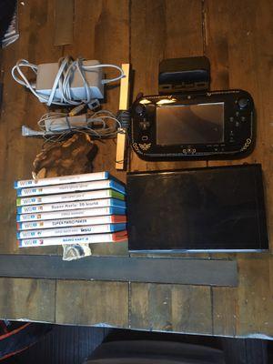 Wii U Legend of Zelda Windwaker Edition Console Bundle for Sale in Gig Harbor, WA