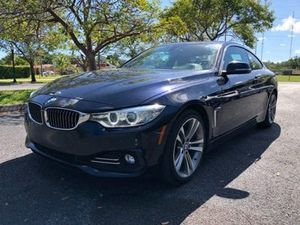 Gorgeous completely loaded 2016 BMW 4 Series 428i Coupe Leather panoramic sunroof navigation alloy wheels backup camera clean title good miles for Sale in Pembroke Pines, FL
