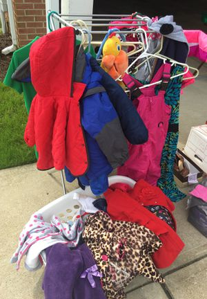 2T girls and 4T boys clothes/coats/shoes for Sale in West Mifflin, PA