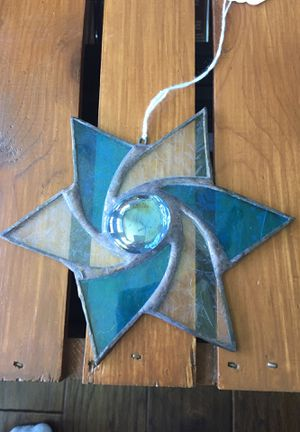 Stain glass star for Sale in Denver, IA