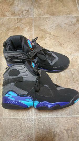 Jordan Aqua 8 Size 11 Excellent Condition for Sale in San Leandro, CA