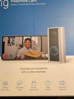 Ring Peephole Camera for Sale in Arlington,  TX