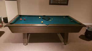 FREE!! American Pool Table with accessories and Ping Pong Table Top. for Sale in Upper Freehold, NJ