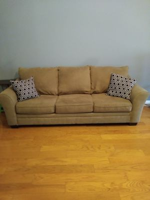 Tan Couch and Loveseat for Sale in Duluth, GA