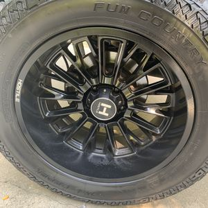 Jeep Wheels And Tires For Sale for Sale in Powder Springs, GA