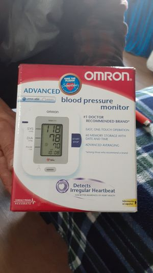 Advance Blood pressure monitor detects irregular heartbeat(Omron) for Sale in Anaheim, CA