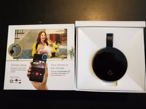 Chromecast Ultra - 4K(UHD) - like new in box for Sale in Sunnyvale, CA