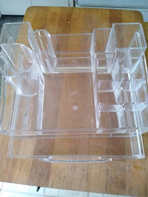 Acrylic make up holder for Sale in Norwalk, CA