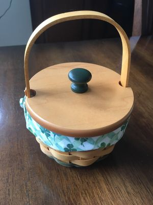 """2001 Longaberger """"Lucky You"""" Basket set for Sale in Beaverton, OR"""