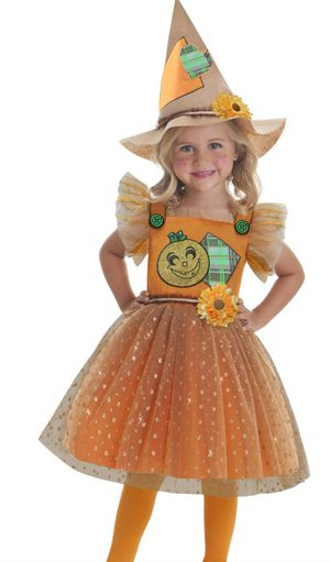 Toddler Girls Size 3-4t Little Scarecrow Halloween Costume for Sale in Seaford, DE