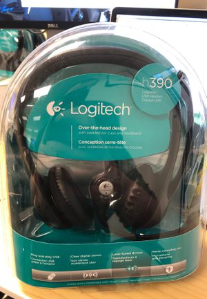 3x Brand new Logitech h390 USB headsets for Sale in San Francisco, CA