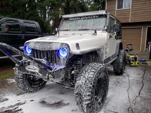 Jeep Wrangler TJ. Badass machine!!!! for Sale in Bonney Lake, WA