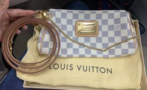 Louis Vuitton clutch bag Azur Damier N55214 (discontinued) collectible! for Sale in Miami, FL
