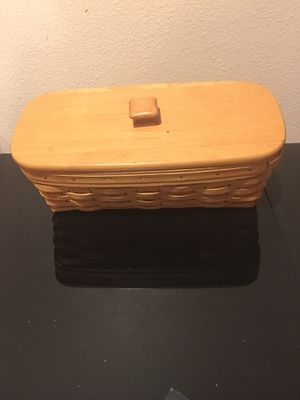 Longaberger 1999 Envelope Basket for Sale in Rancho Cucamonga, CA