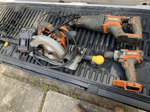 Rigid brushless power tools for Sale in Spring, TX