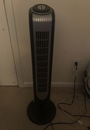 Holmes - Oscillating Tower Fan (60$ new) for Sale in Garner, NC