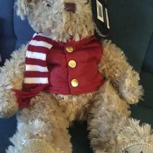 FAO Schwartz Christmas Teddy Bear, brand New With Tags!! for Sale in Boynton Beach, FL