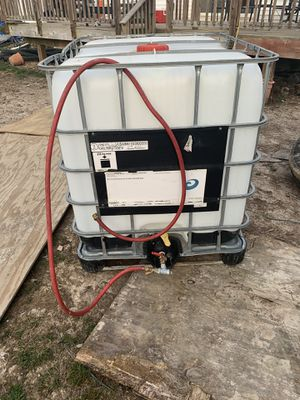 Water tank gallon 250 for Sale in Accokeek, MD