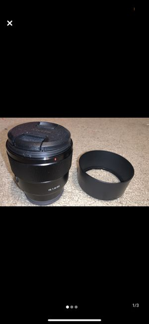 Sony 85mm f1.8 Lens for Sale in Midland, TX