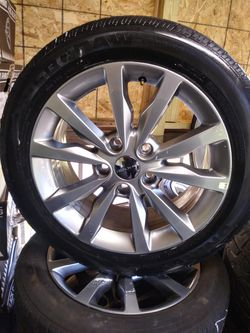 OEM dodge journey factory wheels and tires for Sale in Winston-Salem,  NC