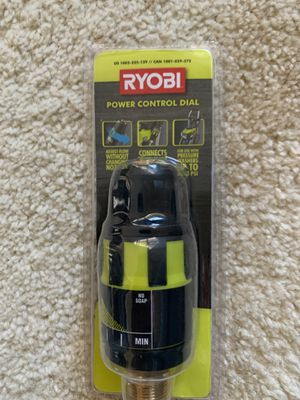 Ryobi pressure washer power control dial for Sale in Lewisville, TX