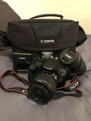 Canon Rebel T6! for Sale in Houston, TX