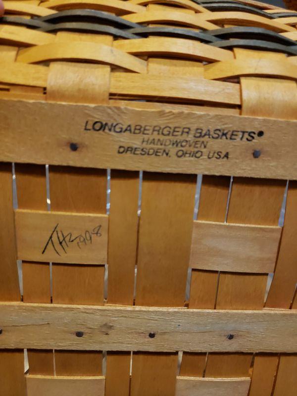 Longaberger hospitality basket family traditions.