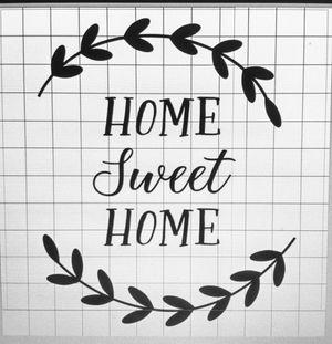 Vinyl Decal - Home Sweet Home for Sale in Walker, LA