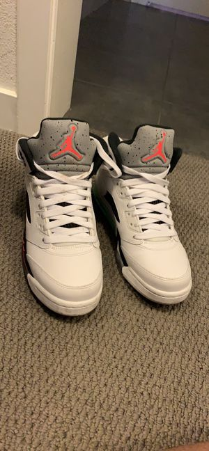 Air Jordan retro five poisonGreen for Sale in Los Angeles, CA