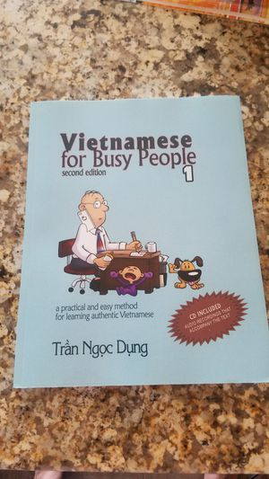 Vietnamese for Busy people Workbook for Sale in Santa Ana, CA