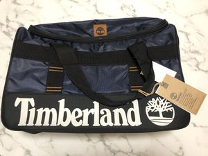 """Timberland 22"""" Duffle Travel Bag Navy Blue Black New with Tags 3631C41 TD JAY Peak Trail for Sale in Kissimmee, FL"""