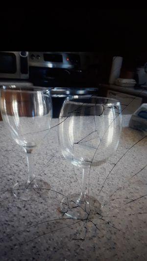 Bulk Event Glassware in Racks for Sale in Gaithersburg, MD